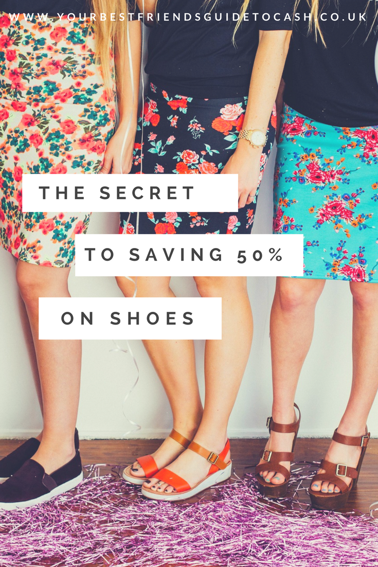 The secret to saving 50% on shoes
