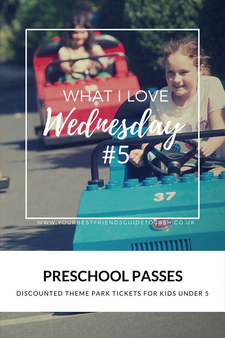 What I Love Wednesday #5: Preschool Passes for Theme Parks