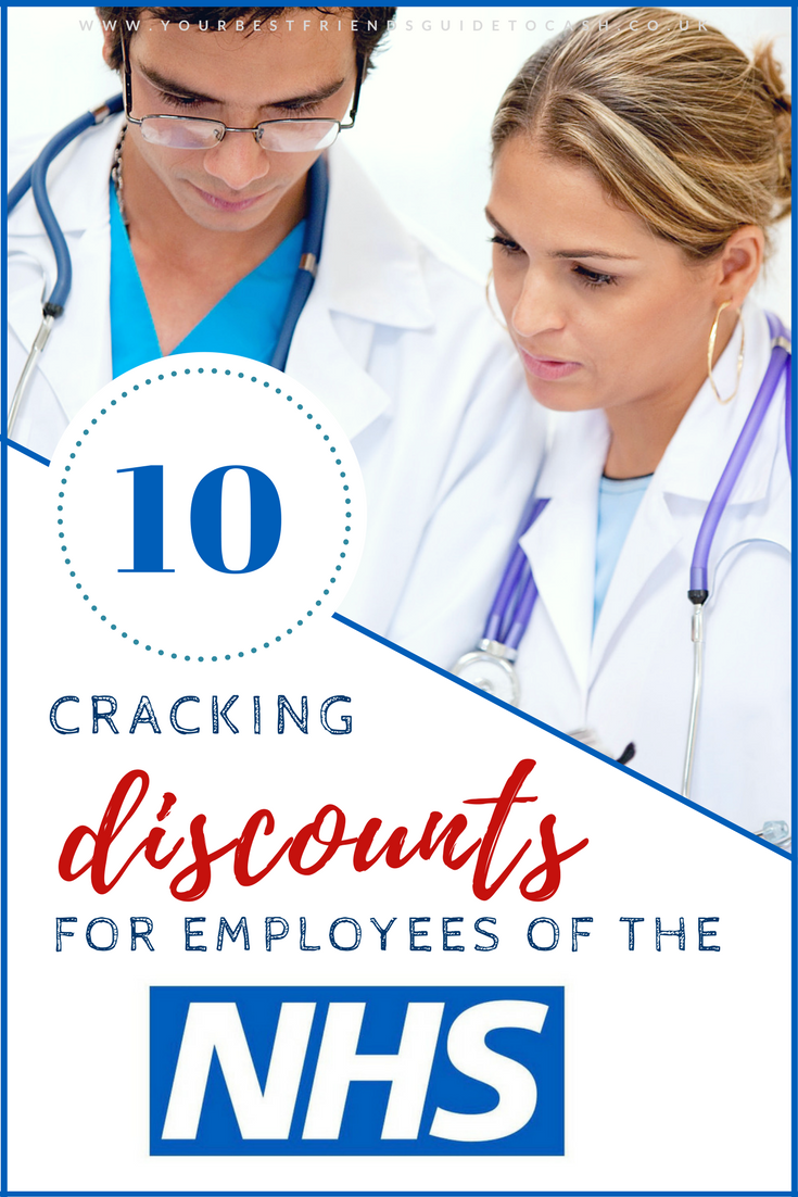 10 great NHS staff discounts