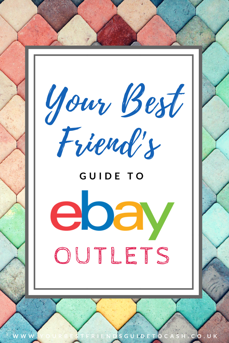 Save money by shopping at eBay outlet stores