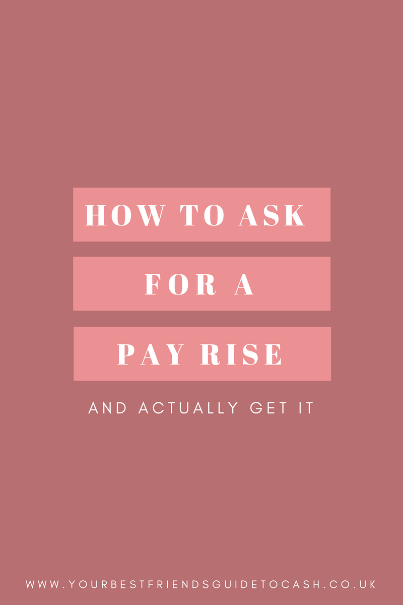 How to ask for a pay rise - and actually get it