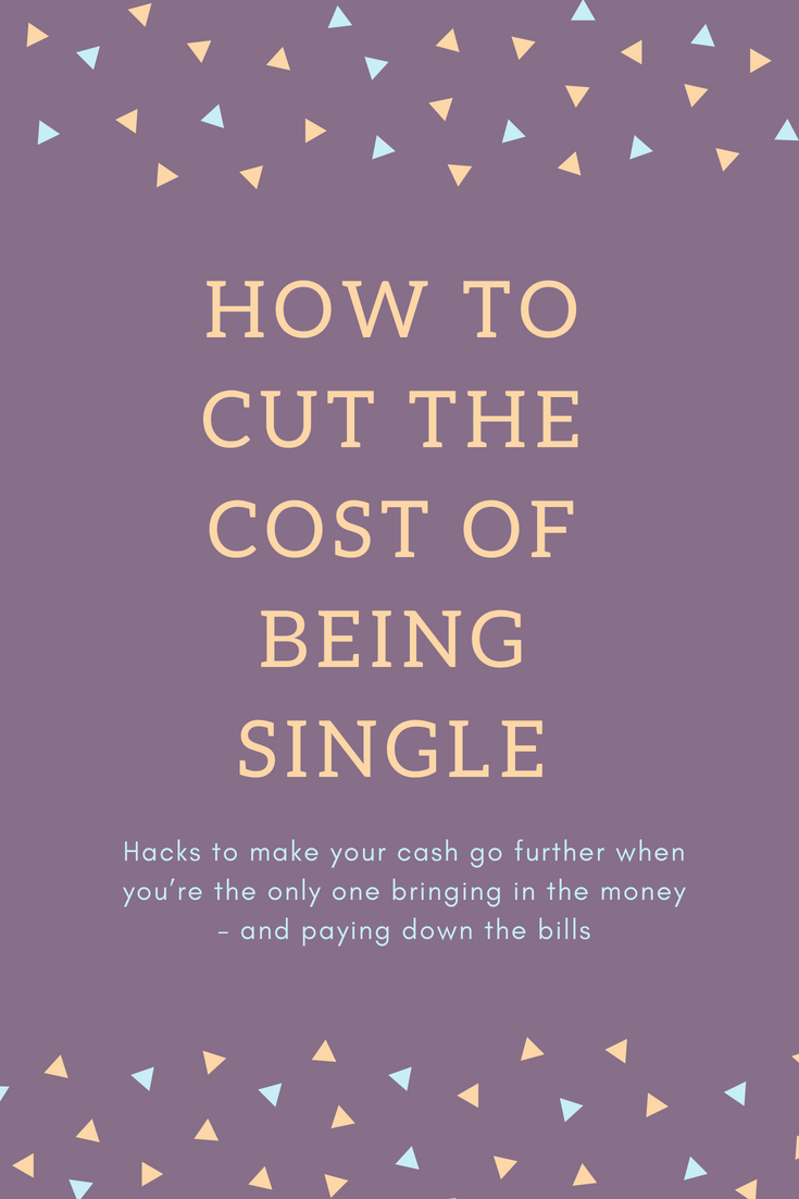 How to cut the cost of being single