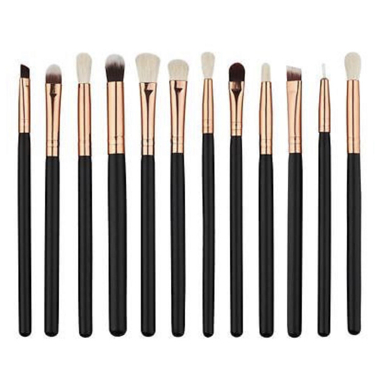 12Pcs Kabuki Make up Brush Set