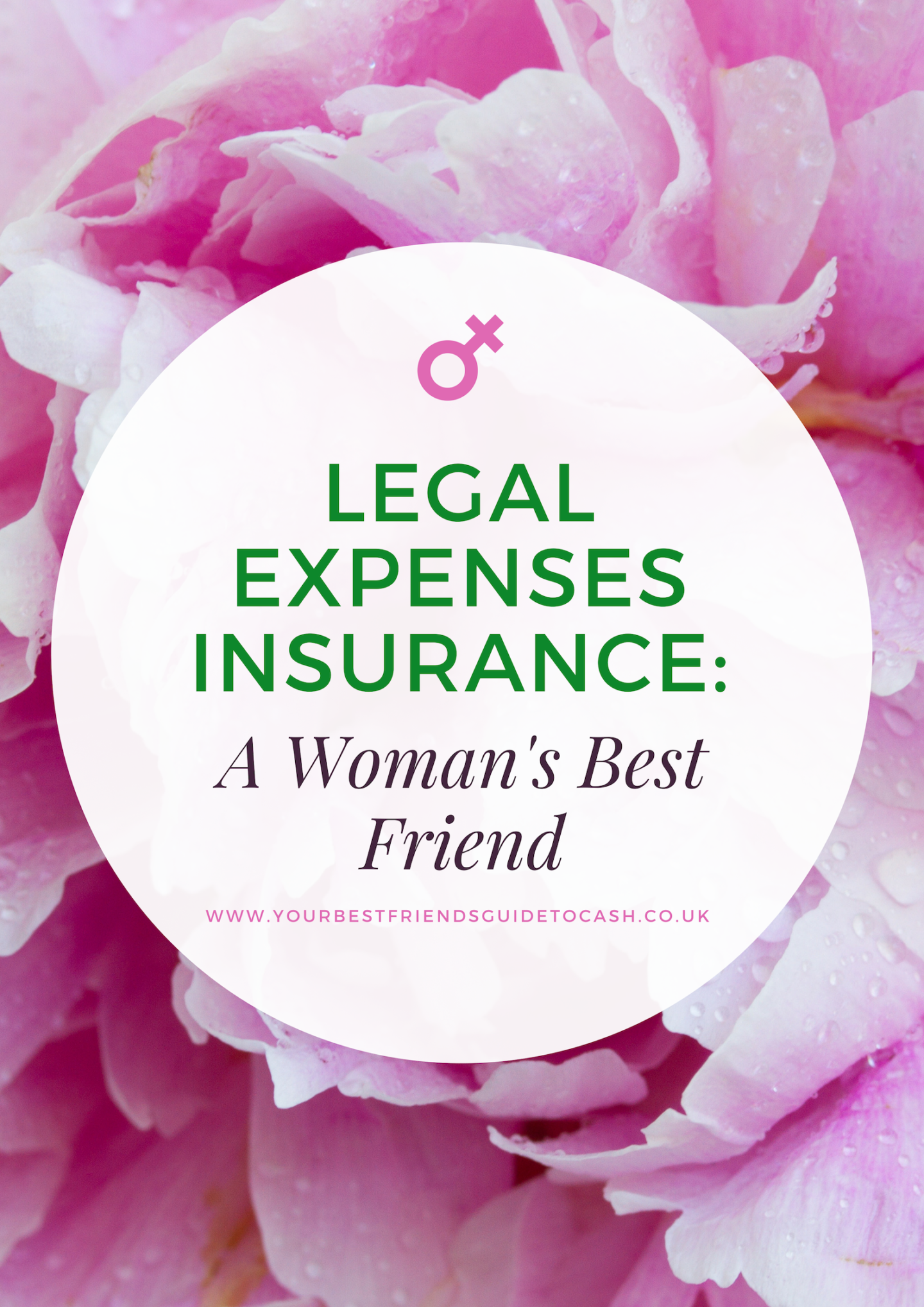 Legal Expenses Insurance: a woman's best friend