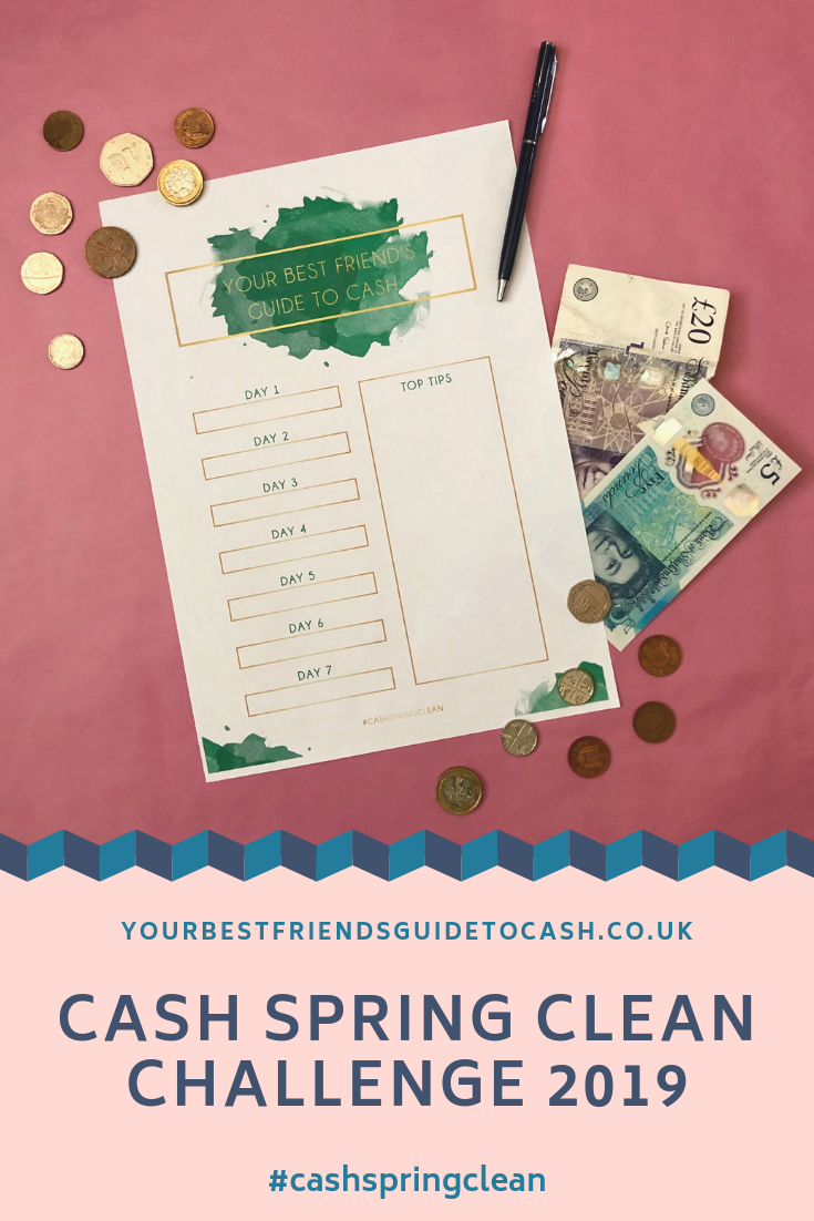 Join me in a Cash Spring Clean