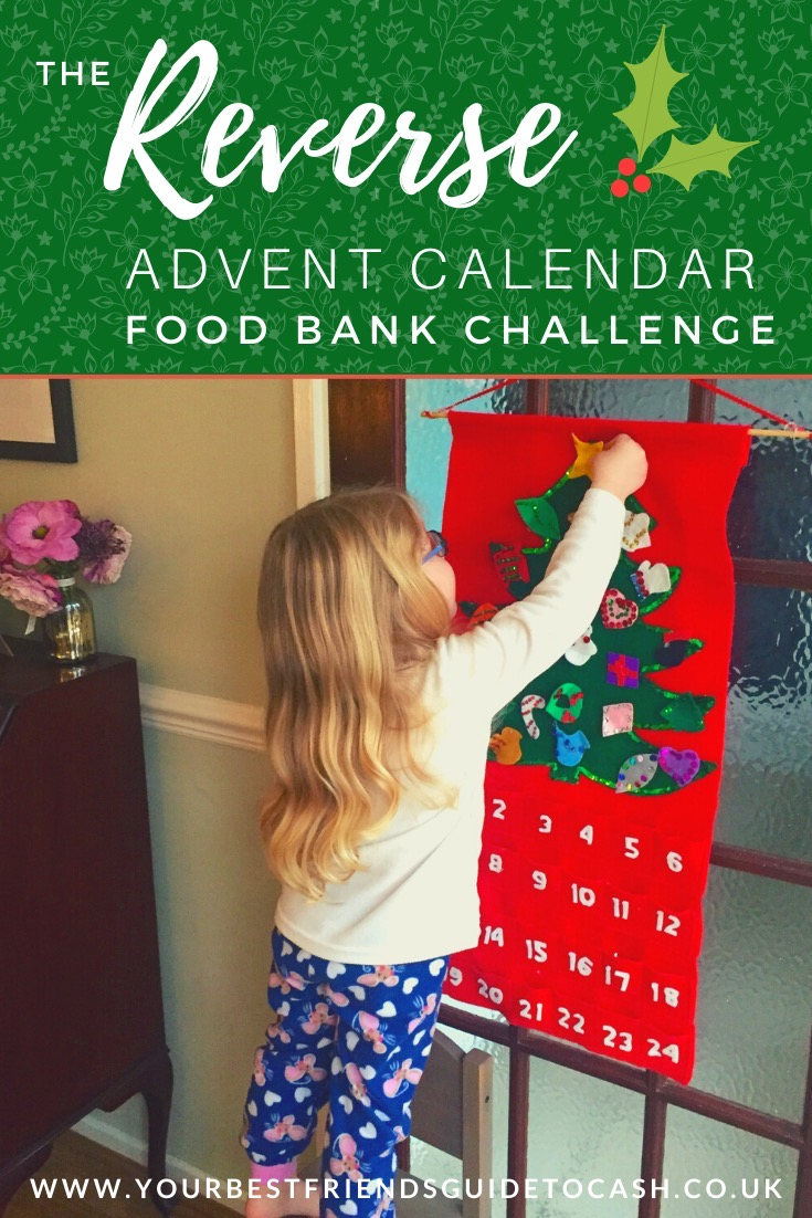 Our Reverse Advent Calendar Food Bank Challenge 2020