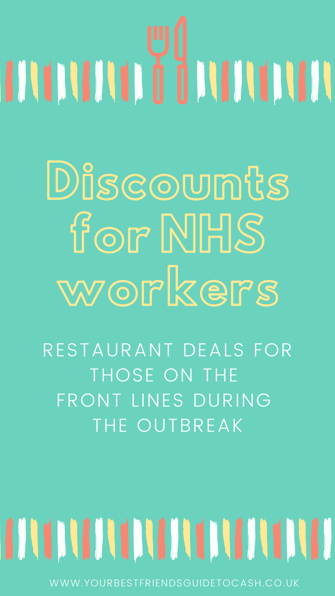 Discounts for NHS workers during the outbreak