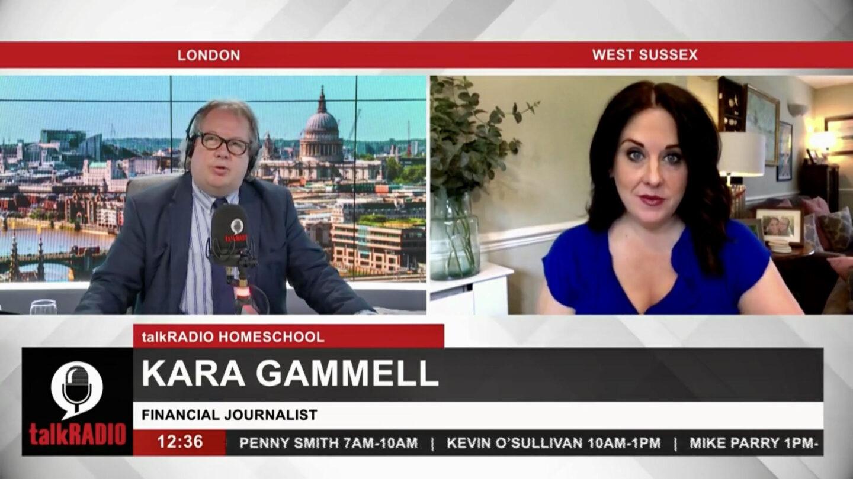Kara Gammell on the Mike Graham show on Talk Radio